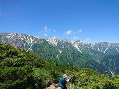 白馬三山の超絶景