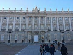 王宮 Palacio Real de Madrid