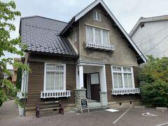 で、今回の目的地はこちら。 島根大学旧奥谷宿舎。 外観の写真うぃ見て可愛いな、と思ってきてみた。