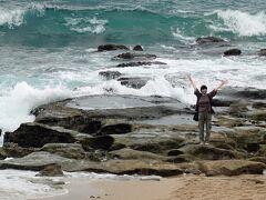 潮が満ちてきていましたが、かろうじてハートを確認できました。