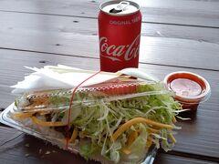 """時刻は16:30過ぎ。 昼食には遅すぎ、夕食には早すぎる時間でしたが、 金武町に来たら""""キングタコス""""は外せないということで、 7年ぶりにタコライス(チーズ野菜)700円をいただきます!! 本日初の食事らしい食事ということで、こんなボリューミーなのに、 ペロリと平らげてしまいました~(^^;) 自分の食欲と胃袋が恐ろしい・・・笑"""