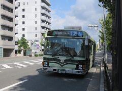 京都市バスに乗って