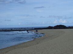 午後は土盛海岸へ。打田原もいいなと思いましたが、同じ湾内なので外海へ。