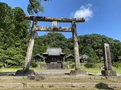 270号線を北上し竹田神社へ  戦国時代に活躍した島津氏中興の祖「島津忠良(日新公)」を祭る神社です
