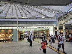 広島駅2階自由通路
