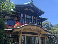 宮の下の定番、富士屋ホテルに来ました。