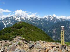 鳴沢岳に登頂