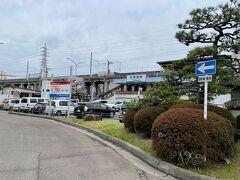 <中岡崎駅>  中岡崎駅に到着。 短時間でしたが、岡崎城も見て、満開の桜に癒されました。 ここまで来て良かったです(^^)