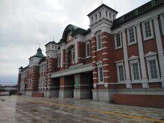 深谷駅舎、東京駅に似てます、東京駅の赤レンガは深谷産を使ってるそうです