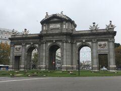 アルカラ門 Puerta de Alcalá