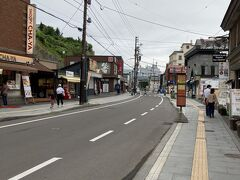 クルーズを終えて、街歩き。堺町通りを行きました。コロナの影響か、閉まっているお店も結構ありました。