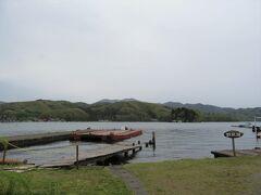 そして今度は野尻湖と出会いました 水戸口公園の駐車場に車を停め湖畔へ