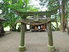 その鳥居があるところには「天祖神社」がありました。