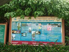 ハロン湾ツアーの途中で、湾内にあるこちらの洞窟に立ち寄りま~す!