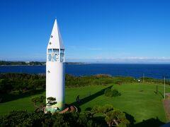 16:50 安房崎灯台 新しくてきれいな灯台でした。