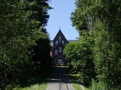 帰り道に立ち寄った、北斗市の燈台の聖母トラピスト修道院、時刻は14:30