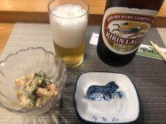 別館の唯一のいいところは別館を一階まで下りると通りにでれますので  通りを少し歩いたお寿司屋さん「うを正」で夕食。