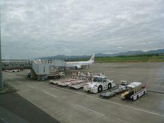本日1日目。出発は羽田空港9:20→香川 高松10:40着のフライトです。