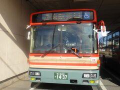 白子車庫発15:40発  JR茂原行路線バス。