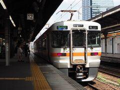漠然と、関西本線にでも乗ってみようかと、名古屋から亀山行きの電車に乗ります。。