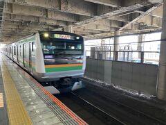 乗った電車は籠原止まりだったので、一つ手前の熊谷で乗り換え。
