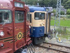 途中で観光列車ろくもんと、横須賀線バージョン。