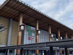長野駅到着。AM6:45,長野名物おやきを買おうとしたら店が朝早くてやってないとです。。。。