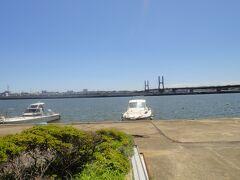 銚子大橋を渡り茨城県に入る。