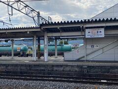 篠ノ井駅到着。ここでJRに乗り換え、