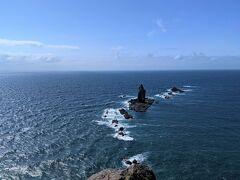 神威岬の先端に到着。
