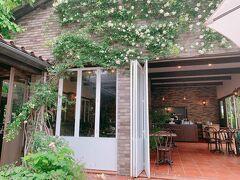 お風呂に入ってさっぱりしたら、ランチへ 同じ南軽井沢にある軽井沢レイクガーデン内にある『イレブンシスティールーム』です