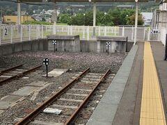 下北駅から一駅先にある、大湊線終点の大湊駅へ。