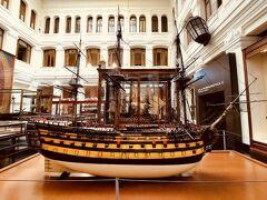 ○マドリード海事博物館 プラド美術館やソフィア王妃芸術センターもいいですが、こちらもスペインらしい船の模型がたくさん展示してありよかったです