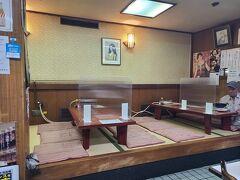 ランチは「肉のますゐ」へ。 精肉店直営の老舗洋食店へ。 八丁堀にあり、ホテルからすぐでした。