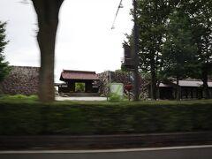 車窓より富山城