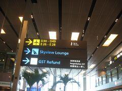 制限エリア外で済ませる用事はないため。展望デッキで少し撮影した後は足早に出国手続きを済ませ、エールフランス指定の「スカイビューラウンジ」で搭乗までの時間を過ごすことにします。