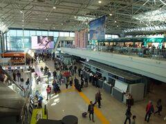テルミニ駅かた空港へ向かいます。ローマ市内もこれでお別れです。