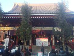 風情ある浅草寺の正月