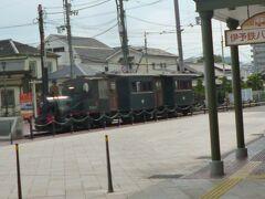 坊っちゃん列車です。