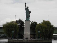 自由の女神像が見えたところで折り返し地点です。
