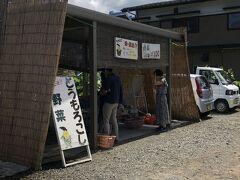 チェックアウト後に朝採れトウモロコシ買いに忍野方面の露天野菜売り場、通称「もろこし街道」まで来たけど、どこも売り切れやった(>_<)
