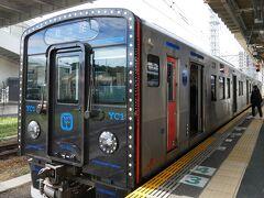 有田駅まではJRで向かいます。