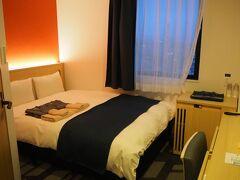 ホテルWBF函館・海神の湯に2泊する。  狭い部屋、全然冷たくならない冷蔵庫。