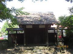 光明院の表門。 造営年代が判明する建築物としては横浜市最古とされ、市の指定有形文化財指定。  。