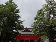 標高1300メートルに位置する赤城神社