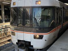 長野まで新幹線でひと駅、ここで名古屋行のしなの号に乗り換え。