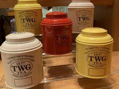 ホテルに戻り『ストレス』でお買い物。TWGの缶かわいいよね~。