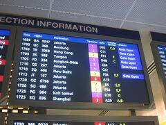 そろそろAF254便ジャカルタ行き(ガルーダ・インドネシア航空GA9547便とのコードシェア便)の搭乗案内が始まりそうなので、ラウンジを退室して搭乗待合室に向かいます。