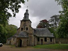 漁師の安全を祈願して17世紀に建てられたノートルダム・ドゥ・グラース教会。
