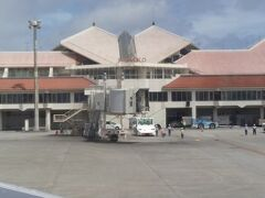 面白い形の宮古空港